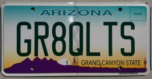 Yes, this is my license plate!