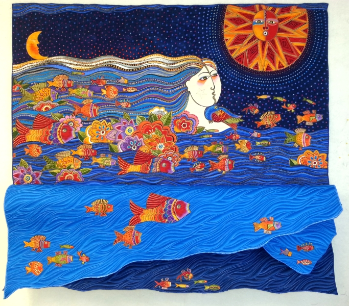 Sea Spirits, 2014, 38'' x 39''