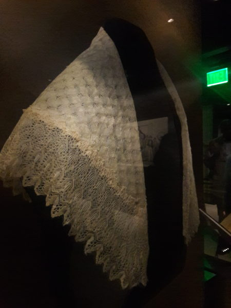 Shawl given to Harriet Tubman by Queen Victoria.